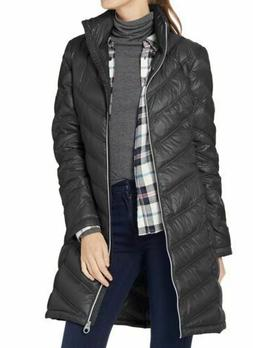 Calvin Klein Women's Chevron-Quilted Packable Down Coat $115