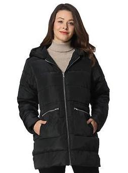 iLoveSIA Women's Down Alternative Quilted Padded Thicken Puf
