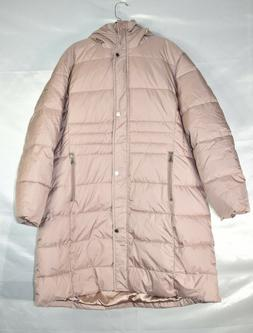 Calvin Klein Women's Faux Fur Hood Puffer Coat Winter Jacket