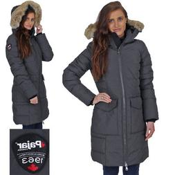 Pajar Women's Layla Duck Down Long Winter Cold Weather Parka
