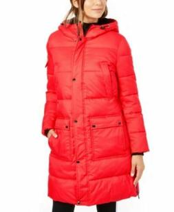 Calvin Klein Women's Oversized Hooded Puffer Coat