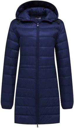 Wantdo Women'S Packable Down Jacket Puffer Ultra Light Weigh