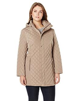 women s plus size classic quilted jacket