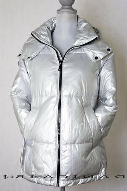 Calvin Klein Women's Quilted Hooded Oversized Puffer Jacket