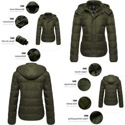 Wantdo Women's Thick Winter Coat Quilted Warm Puffer Jacket