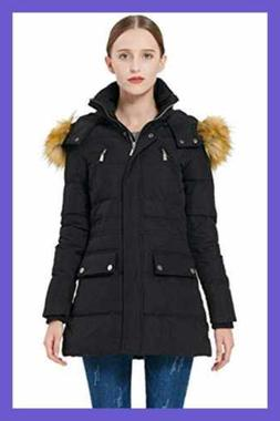 5fd2d1b2d Orolay Women's Thickened Down Jacket Win...