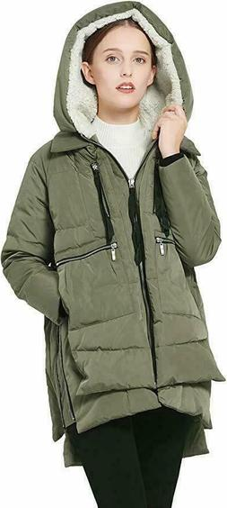 Women's Orolay Thickened Down Jacket XL ~ Olive ~ NWT