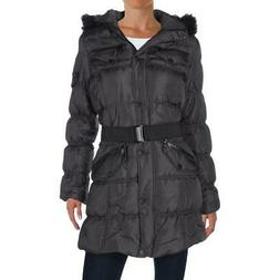 Urban Republic Womens Gray Winter Parka Coat Anorak Jacket O