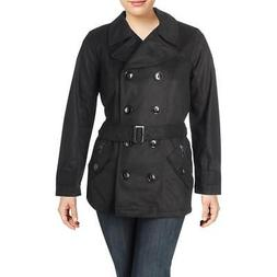 Urban Republic Womens Wool Blend Jacket Pea Coat Outerwear J